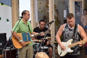 Live rock music at Kalymnos Climbing Festival 2017